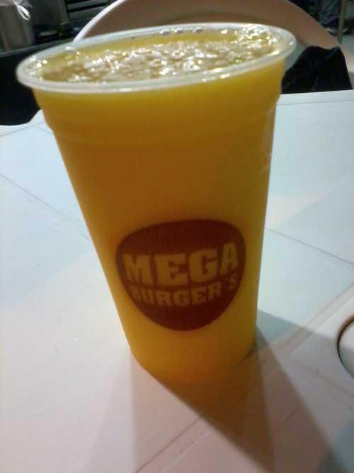 Mega Burger's - Suco de Maracujá