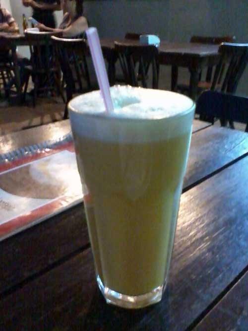 Bendita Tapioca - Suco de Limão, Laranja e Mel