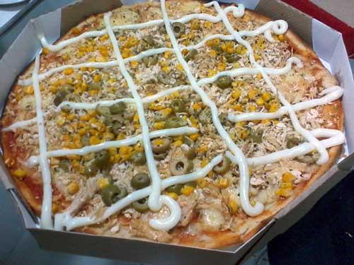 Nathely Pizzaria Express - Pizza de Frango com Catupiry