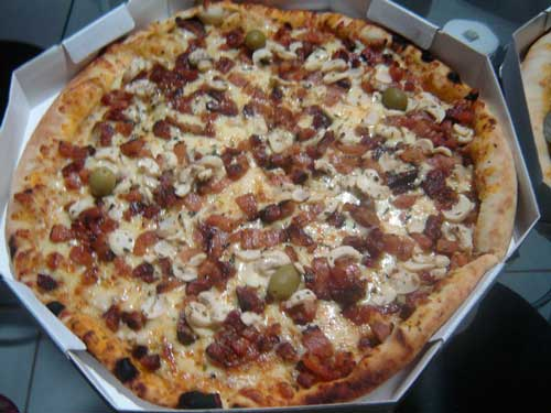 Flamboyant Grill e Pizzaria - Pizza de Bacon