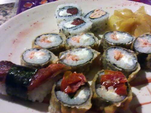Matsuri - Hot Filadelfia e Hot Tomate Seco
