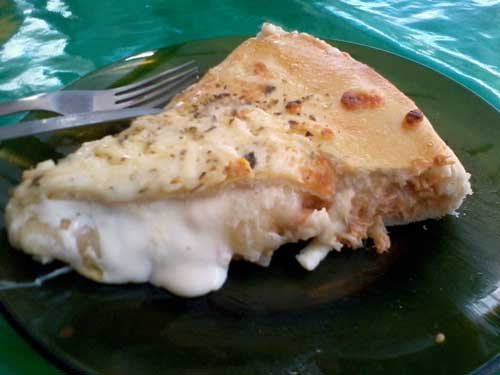 Lanche à Goiana - Pizza de Frango