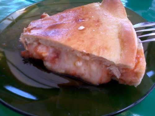 Lanche à Goiana - Pizza de Presunto e Queijo