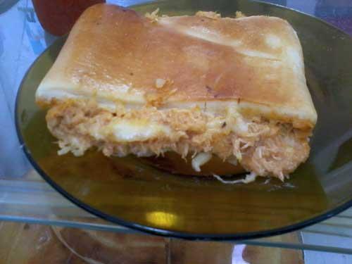 Lanche à Goiana - Torta de Frango
