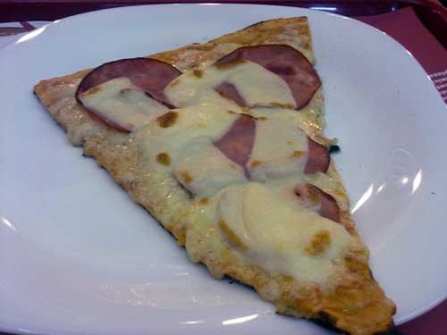 Pizza Uau! - Pedaço de Pizza Lombinho