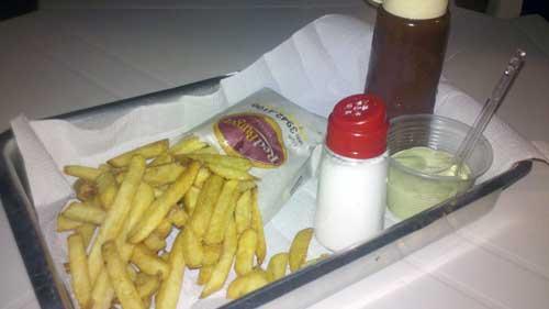 Red Burger - Batatas Fritas