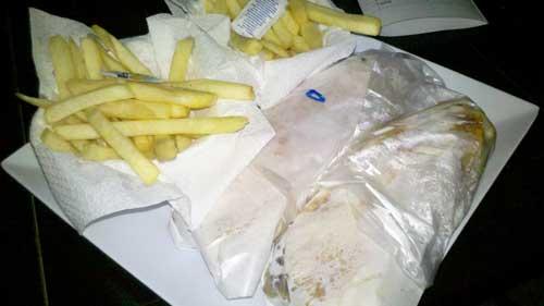 Salim Mustafá - Combo: Shawarmas e Batatas Fritas