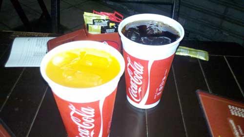 Salim Mustafá - Refrigerantas: Coca-Cola e Fanta