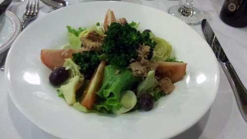 Restaurante Ipê - Entrada: Salada Ipê