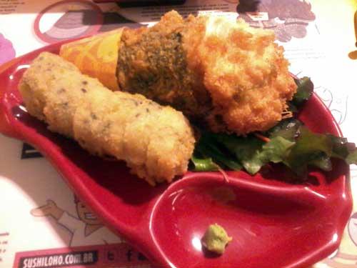 Sushi Loko - Combo 1: Temaki Hot e Hot Philadelfia