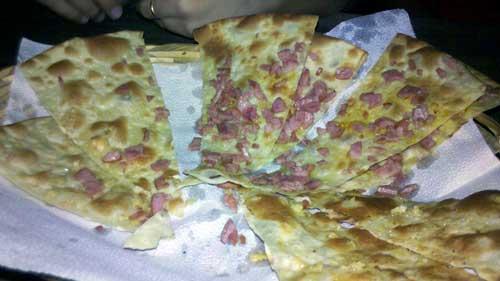 Pizzaria Originale - Foccacia de Calabresa