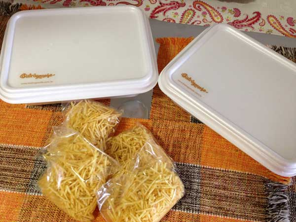 Bistrôgonofe - Embalagens Tamanho Família