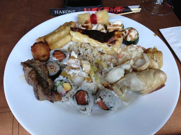 Buffet Hakone Restaurante - Prato DH