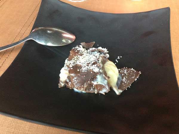Buffet Hakone Restaurante - Sobremesa: Trufa de Morango