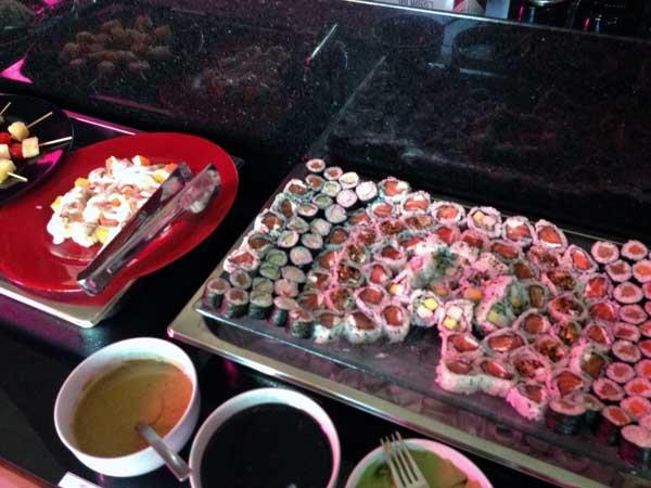 Buffet Hakone Restaurante - Sushis