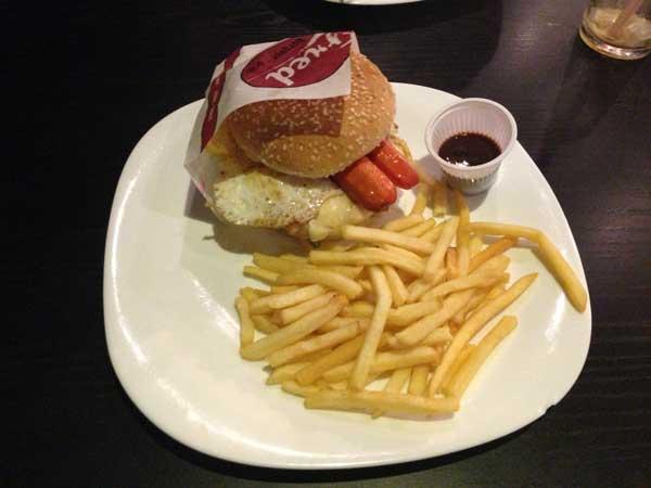 Fred Burguer Grill - Brutus Chicken