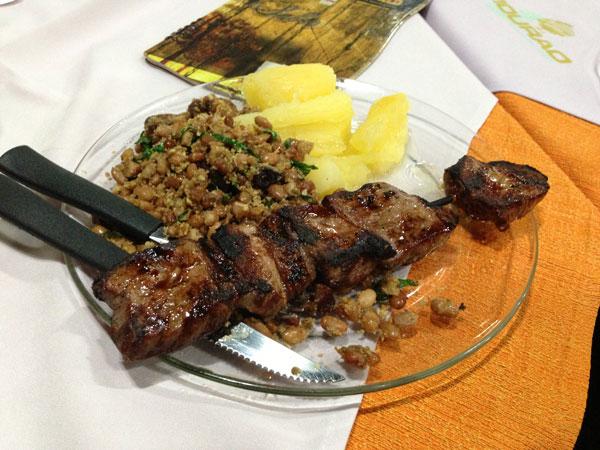 Mourão Chopp e Restaurante - Espetinho de Picanha