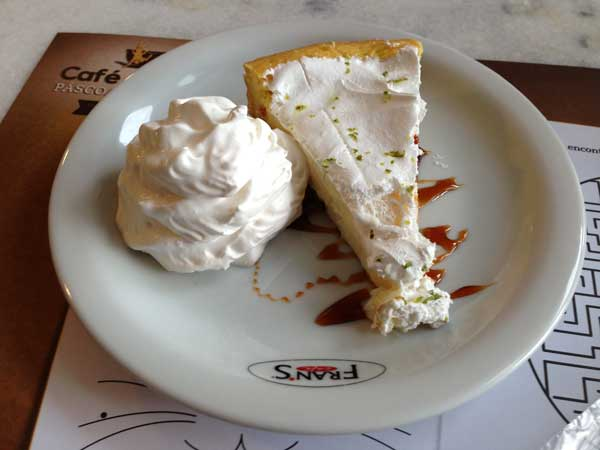 Fran's Café - Torta de Limão