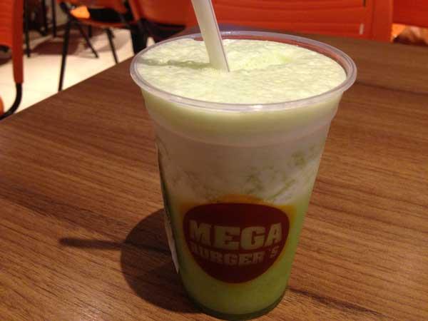 Mega Burger's - Suco de Abacaxi com Hortelã