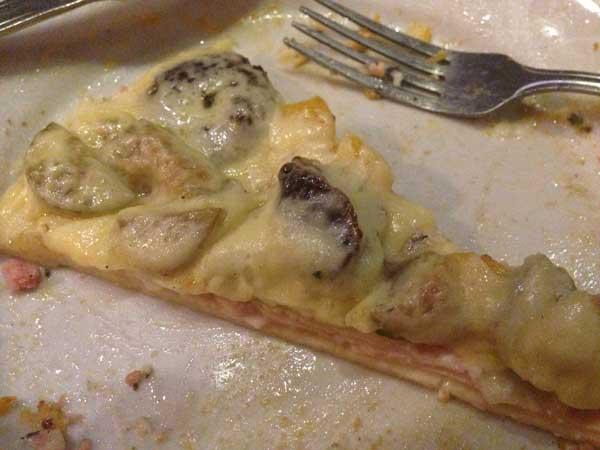 Nossa Casa Rodízio de Pizzas e Massas - Pizza Doce: Abacaxi, Figo e Manga