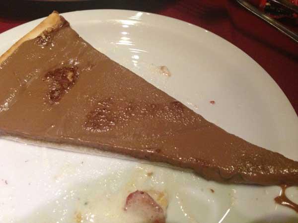 Nossa Casa Rodízio de Pizzas e Massas - Pizza Doce: Chocolate