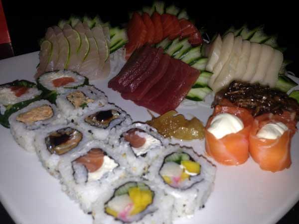 Shiitake - Prato Principal: Sushis e Sashimis