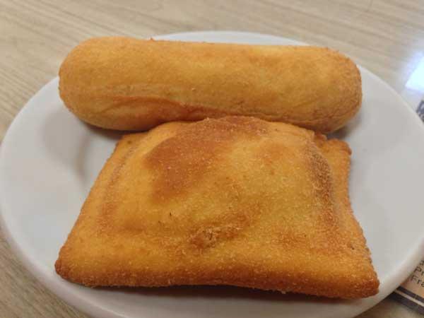 Della Panificadora e Confeitaria - Empanados: Salsinha e Presunto