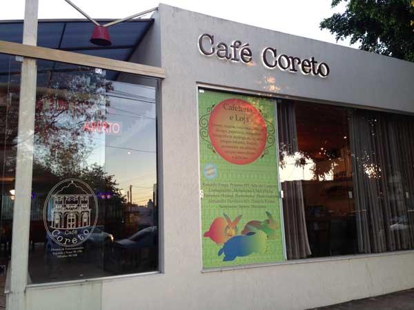 Café Coreto - Entrada