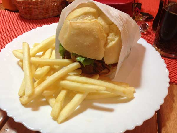 Ray Burger & Grill - Sanduiche Ray Filé Fatiado