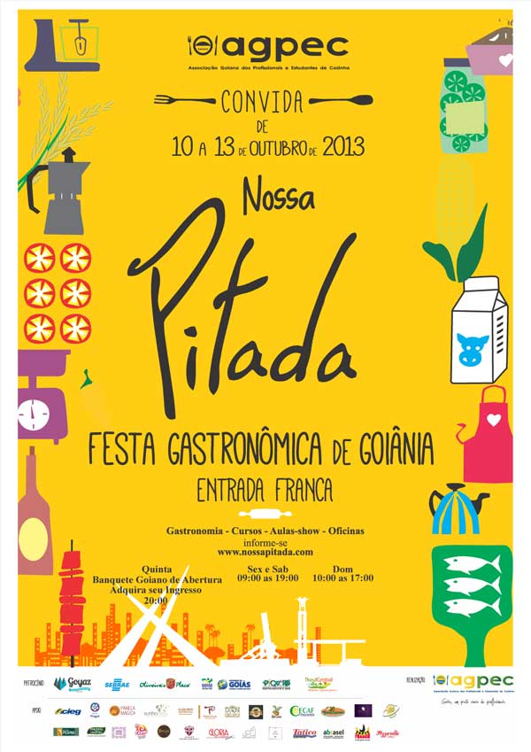 Nossa Pitada – Festa Gastronômica de Goiânia 2013