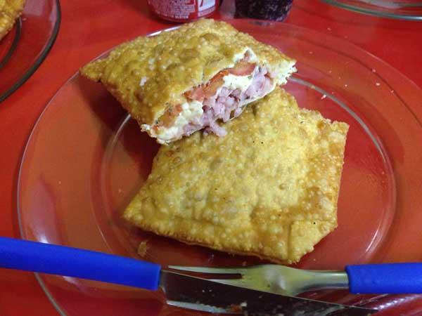 Megha Pastéis - Pastel de Pizza