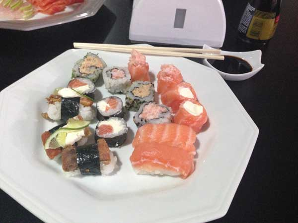 Nirá Restaurante Japônes - Prato AK