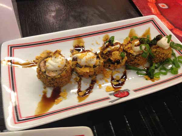 Click Sushi - Hot Philadelfia