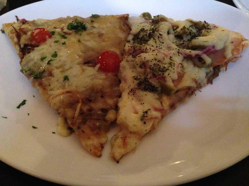 P di Pizza - Pedaços de Pizza: Escondidinho de Pizza e Lombinho