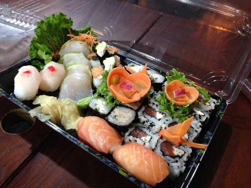 Fábrica de Sushi: Prato Principal