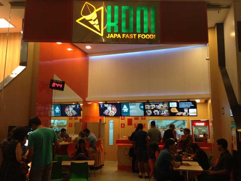 Koni Japa Fast Food - Lugar