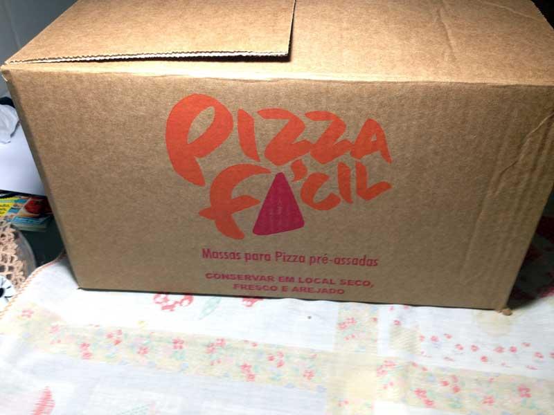 Pizza Fácil - Caixa