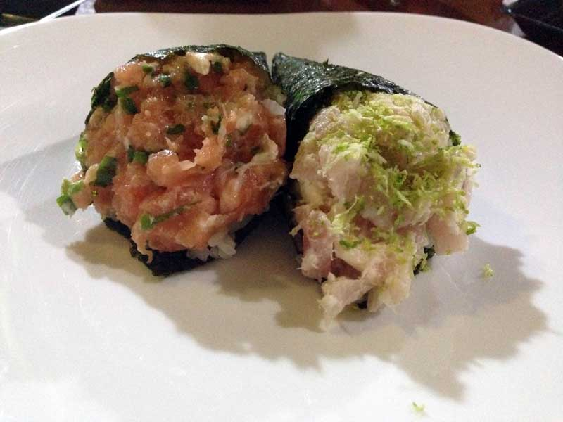 Ono Sushi Restaurante - Temakis: Tilápia e Philadelfia