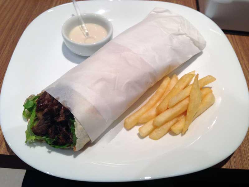 Falak Kebaberia - Kebab de File Mignon Americano